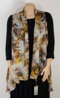 KeKe Collection – Silk Vest – Autumn Glen