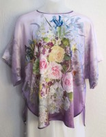KeKe Silk Blouse - Lavender