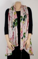 KeKe Collection - Silk Vest - Pink Rose
