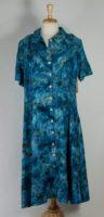 """LA Blend 46"""" Button Front Dress (3 Colors)"""
