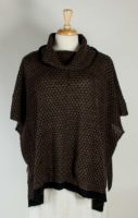 LA Blend - Cowl Neck Poncho (2 Colors)