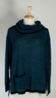 LA Blend - Cowl Neck Tunic Sweater (2 Colors)
