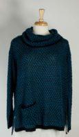 LA Blend - Cowl Neck Tunic Sweater (2 Colors)