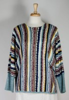 La Blend Vertical Stripe Sweater