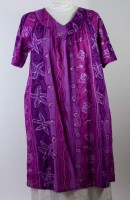 La Cera V-neck Muumuu Dress (2 Colors)