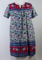 La Cera V-notch Muumuu Dress (3 Colors)
