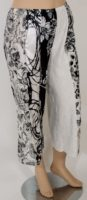 Lee Andersen - Spring Graphic Pant - Black & White