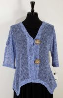 LuLu-B Open Weave Mesh Cardigan (5 Colors)