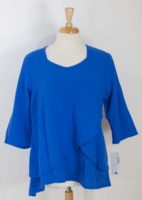LuLu-B Cotton Gauze V-Top (3 Colors)