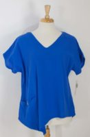 LuLu-B V-neck Cotton Gauze Top (4 Colors)