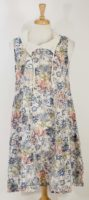 Luukaa - Sleeveless Floral Print Dress