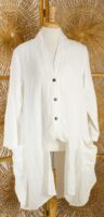 Luukaa - Linen Duster Jacket (2 Colors) **SOLD OUT**