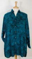 Anna Ocean/Maggie B - Rayon Batik Big Shirt