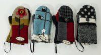 Woolflower Mittens (4 Colors)