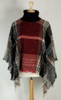 Magic Scarf - Cowl Neck Sweater Poncho (3 Colors)