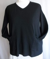 Margaret Winters V-neck Pullover (4 Colors)