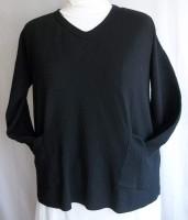 Margaret Winters V-neck Pullover (4 Colors)