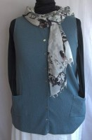 Margaret Winters Sweater Vest Cardigan (2 Colors)