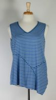 Nyah V-neck Striped Tank