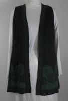 Parsley & Sage Open Front Sweater Vest (2 Colors)