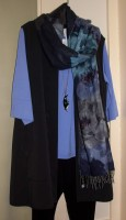 Penguin Necklace & FRAAS Scarf