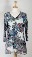 Parsley & Sage - Rayon Butterfly Tunic