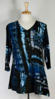 Parsley & Sage - Crystal Print Bias Tunic