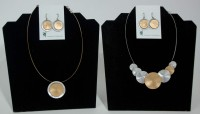 Origin Jewelry - Silver & Gold (2 necklaces & 2 earings)