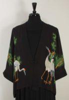 Simply Silk - Chinese Frog Closure Silk Jacket - Cranes