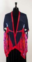 Cocoon House – Long Open Silk Kimono – Sizzle