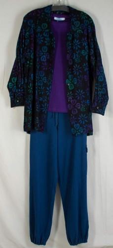 Su Placer Flannel Shirt - Originally $84.95 then $51 . . . NOW $25! Su Placer Purple Shirt - Originally $57.95 then $34 . . . NOW $17! Pacific Cotton Pant - Originally $69.95 then $44 . . . NOW $22!