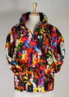 UBU Shorter Pillow Jacket Raincoat - Happy Flowers