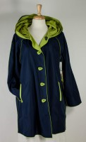 UBU Reversible Raincoat - Navy