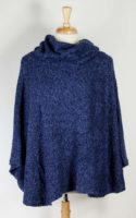 Van Klee - Poncho with Cowl Neck (4 Colors)