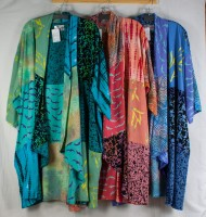 Wild Woman One Size Patchwork Kimono (3 Colors)