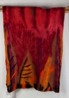 Windhorse - Silk & Wool Leaf Scarf (2 Colors)