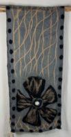 Windhorse - Rising Sun(flower) Wool & Silk Scarf