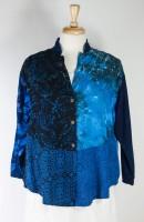 Wild Woman Mandarin Collar Blouse/Jacket (5 Colors)