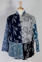 Wild Woman Mandarin Collar Blouse/Jacket