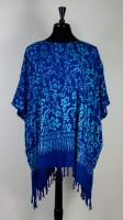 Wild Woman Fringe Poncho (Assorted Colors)