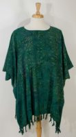 Wild Woman - Fringe Poncho (Assorted Colors)