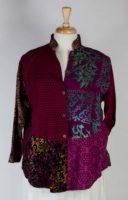 Wild Woman Mandarin Collar Blouse/Jacket (4 Colors)