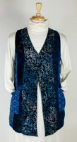 Wild Woman Batik Patchwork Vest (2 Colors)