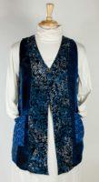 Wild Woman Batik Patchwork Vest (2 Colors)