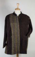 Yasuko Kurisaka - Brown Stripe Jacket