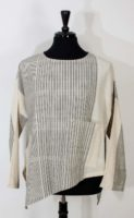 Yasuko Kurisaka - Amy Blouse (Natural Stripe)